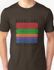 Books Are My Escape Unisex T-Shirt