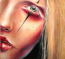 Pale Geisha by OutsiderArtist