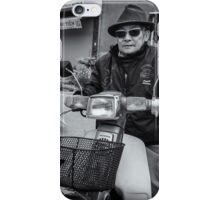 Cool looking old man iPhone Case/Skin