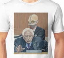 BERNIE AND THE REPTILIAN Unisex T-Shirt