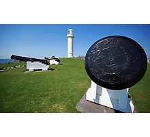 Wollongong Lighthouse and Guards Photographic Print