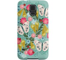 Buckeye Butterly Florals by Andrea Lauren  Samsung Galaxy Case/Skin