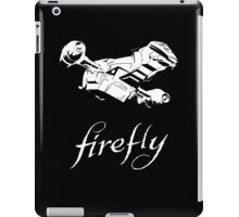 Firefly with logo and flying Serenity iPad Case/Skin