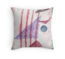 Abstract Fred Throw Pillow