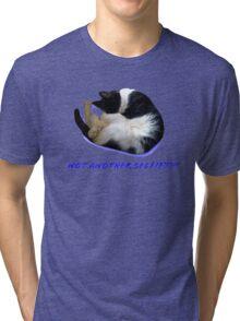 Not Another Selfie??!! - Cat Tri-blend T-Shirt