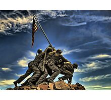 The Iwo Jima Memorial Photographic Print