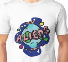 Aliens Invading Earth Unisex T-Shirt