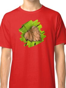 Old and New Leaf Abstract Classic T-Shirt