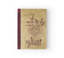 marauder's map Hardcover Journal