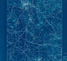 Massachusetts  USGS Historical Topo Map MA Lawrence 352795 1893 62500 Inverted by wetdryvac
