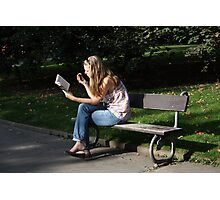 Reader Photographic Print