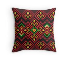 Candle Knitting Pattern Throw Pillow