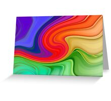 Ripples and Rainbows Greeting Card