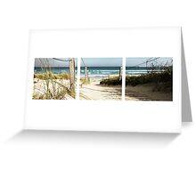 Path to Beach - Warrnambool Greeting Card