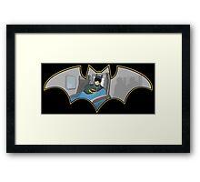 Bat Nap Framed Print