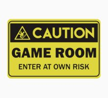 Caution -  Game room by xtrolix