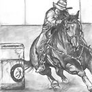 barrel racer by dirtthirsty