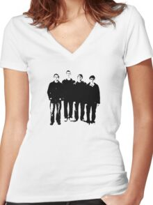 Inbetweeners Women's Fitted V-Neck T-Shirt
