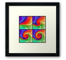 The Fourth Dimension Framed Print