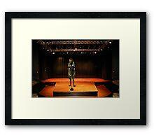 Justin Beeber Framed Print