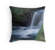 Aysgarth Falls Throw Pillow