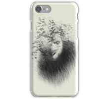 The Lion and the butterflies iPhone Case/Skin