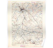 Massachusetts  USGS Historical Topo Map MA Lawrence 352790 1888 62500 Poster