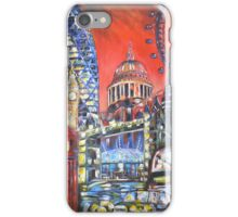 London Attractions iPhone Case/Skin