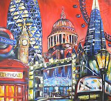London Attractions by SM-artman