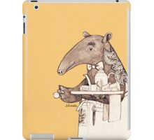 Tea time starts now - Malayan Tapir  iPad Case/Skin
