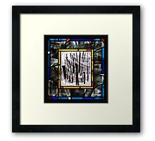 Calligraphic Dance Movement No. 2 Framed Print