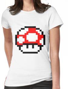 PIXEL - Super mushroom Womens Fitted T-Shirt