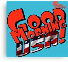 Good Morning USA! Canvas Print