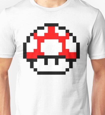 PIXEL - Super mushroom symmetric Unisex T-Shirt