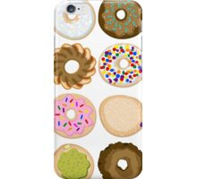 Sixteen Donuts of Awesome iPhone Case/Skin
