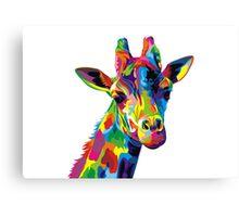 Giraffa Canvas Print