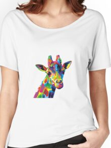 Giraffa Women's Relaxed Fit T-Shirt