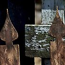 Weathered Pickets by pmreed