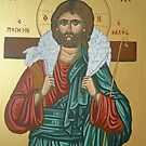 "Jesus ""Greek Icon"" by Marinella  Owens"