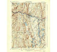 Massachusetts  USGS Historical Topo Map MA Orange 352022 1941 31680 Photographic Print