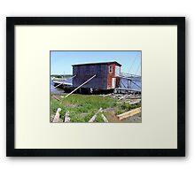Hurricane Insurance Framed Print