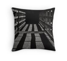Making music in the squares Throw Pillow