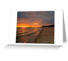 South Australia - Pure Gold - Sunrise Greeting Card