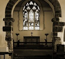 Chancel Arch, Peasmarsh by Dave Godden