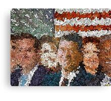 Conservative Americans Canvas Print