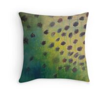 Past Flowers Throw Pillow