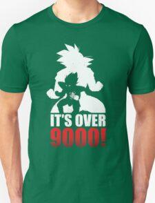 DragonBall Z Goku It's Over 9000 Train Insaiyan Or Remain The Same Anime Cosplay Gym T Shirt T-Shirt