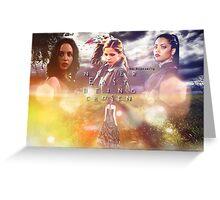 Faith, Buffy, Kendra Greeting Card