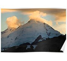 Mt. Baker Sunset Poster