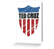 Ted Cruz Patriot Shield Greeting Card